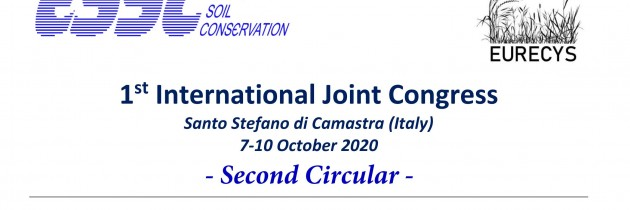 "1 st  International Joint Congress on ""Sustainable Management of Cultural Landscapes  in the context of the European Green Deal"" Santo Stefano di Camastra (Italy)  7-10 October 2020"